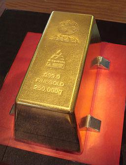Toi 250kg gold bar